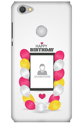 Custom 3D-Xiaomi Redmi Y1 Birthday Greetings Mobile Cover
