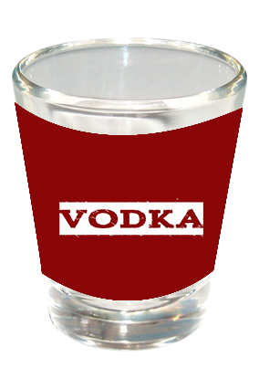 Vodka Funky Shot Glass