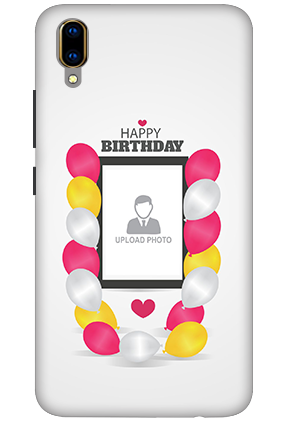 3D - Vivo V11 Pro Birthday Greetings Mobile Covers