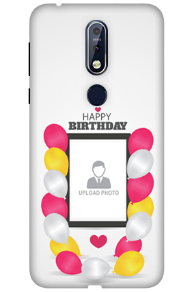 3D Nokia 7.1 Birthday Greetings Mobile Covers