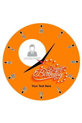 Trendy and Designer Round Wall Clock For Birthday