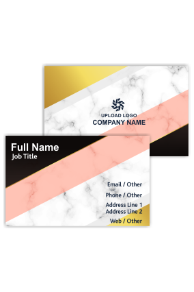 Trendy Customized Fashion Visiting Card