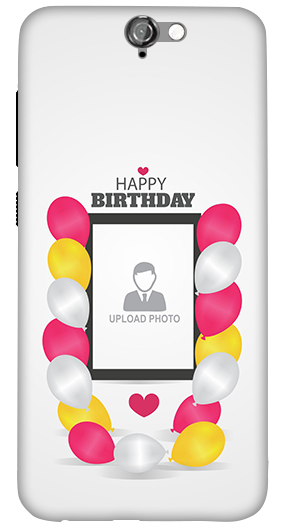HTC One A9 Birthday Greetings Mobile Cover