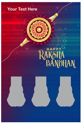 Sister Like MoM Photo Printed Raksha Bandhan Portrait Collage