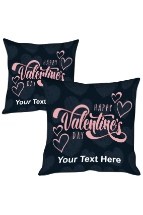 Happy Valentine's Day Cushion Cover