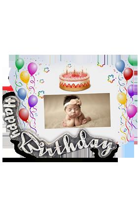 Celebrations Birthday Photo Framex