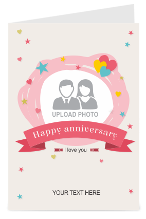 Soothing Anniversary Greeting Card
