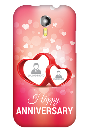 Micromax A 117 True Love Anniversary Mobile Cover