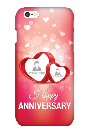 Apple I Phone 6 Small Hearts Anniversary Mobile Cover