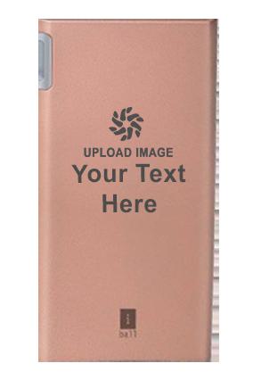 iBall Power Bank 5000 mAh - PLM5008 - Polymer Battery  (Rose Gold)
