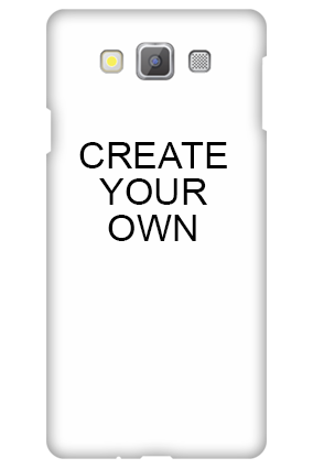 Silicon Samsung Galaxy A7 - Create Your Own Mobile Cover