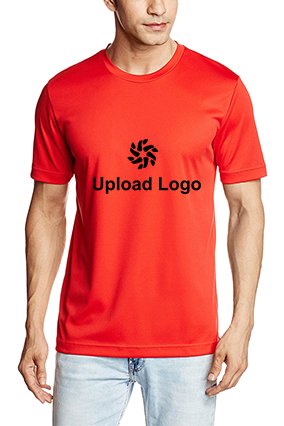 180GSM - Upload Logo Dry Cell Team ESS Red T-Shirt - 51226713
