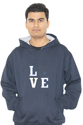 Love Full Sleeves Hoodie