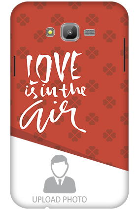 3D-Samsung Galaxy J7 Love in The Air Mobile Cover