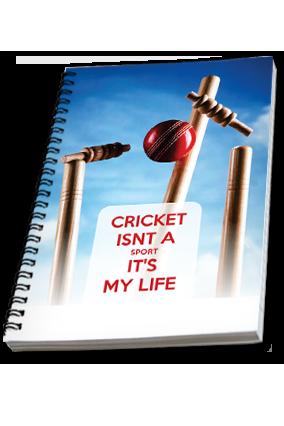 Simply Cricket Notebook