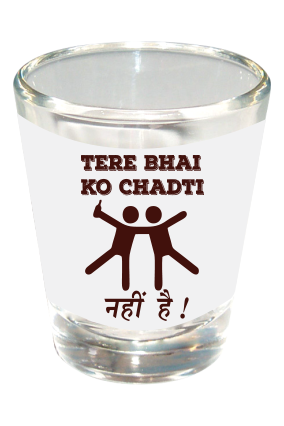 Chadti Shot Glass