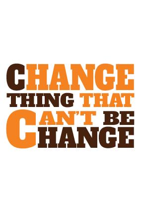 Change Landscape Poster