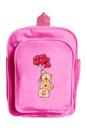 Cute Teddy School Bag