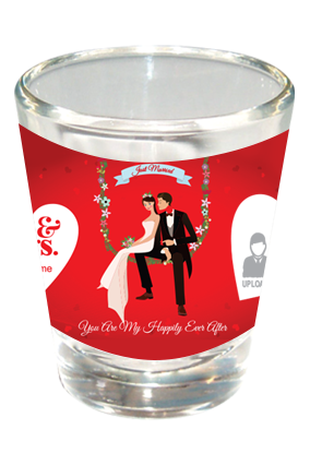 Romantic Shot Glass