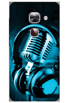 3D - Le Max 2 Headphones Mobile Cover