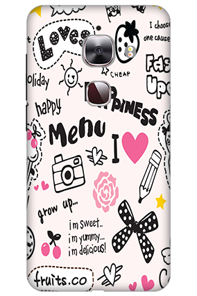 3D - Le Max 2 Happiness Menu Mobile Cover