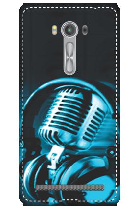 3D - Asus Zenfone 2 Laser ZE550KL Headphones Mobile Cover