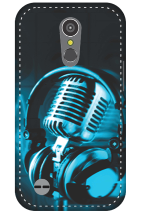 3D - LG K10 (2017) Headphones Mobile Cover