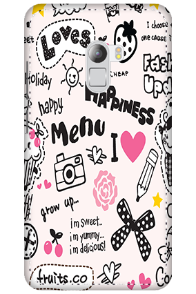 3D - Lenovo K4 Note Happiness Menu Mobile Cover