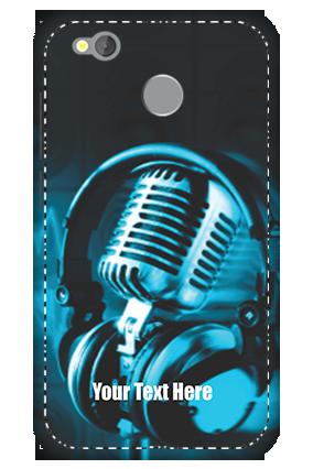 3D -  Redmi 4 Headphones Mobile Cover