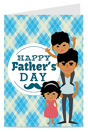 You are My World Father's Day Greeting Card