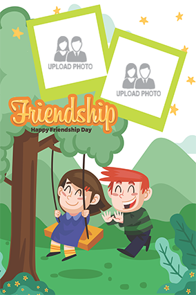 Buy Friendship Day Posters Online In India With Custom Photo