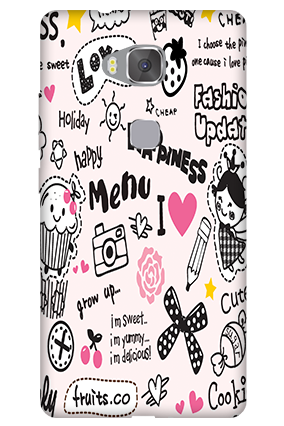 Customize Huawei Honor 5X Happiness Menu Mobile Cover