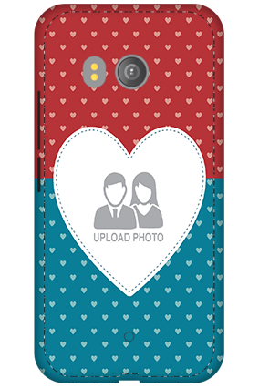 3D - HTC U11 Colorful Heart Valentine's Day Mobile Cover