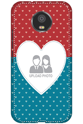 3D - Motorola Moto G5S Colorful Heart Valentine's Day Mobile Cover
