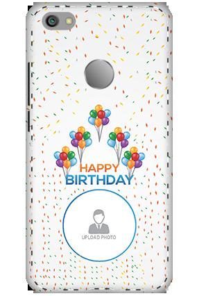 3D - Xiaomi Redmi Note 5A Happy Birthday Mobile Cover