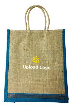Upload Logo Jute Bottle Bag 05