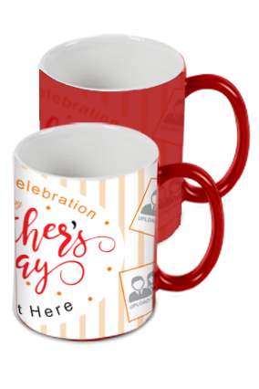 First Day Celebration Red Magic Mug