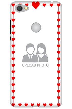 3D-Xiaomi Redmi Y1 Heart Valentine's Day Mobile Cover