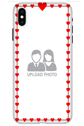 Apple iPhone XS Max Heart Valentine's Day Mobile Cover