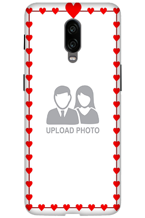 3D - Oneplus 6T Heart Valentine's Days Mobile Cover