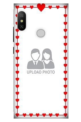 3D - Xiaomi Redmi 6 Pro Heart Valentine's Day Mobile Cover