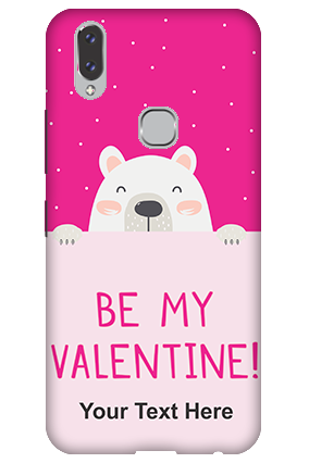 3D-Vivo V9 Be My Valentine Customized Mobile Cover