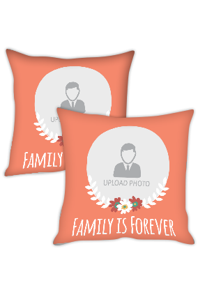 Family is Forever Cushion Cover