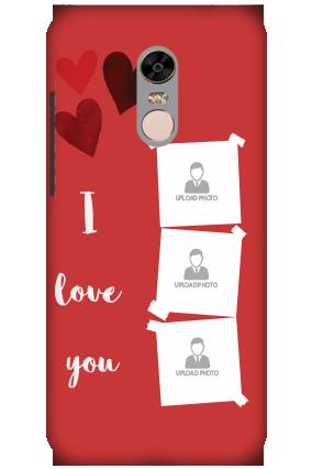 3D-Xiaomi Redmi Note 5 Beautiful Hearts Customized Mobile Cover