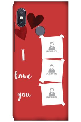 3D-Xiaomi Redmi Note 5 Pro Beautiful Hearts Customized Mobile Cover