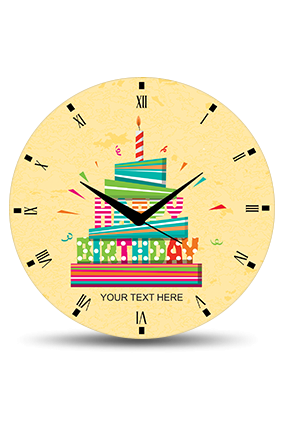 Birthday Wall Clock