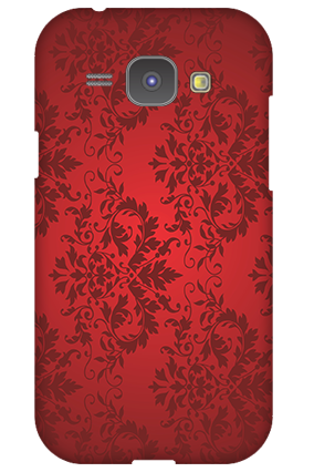 Custom Samsung Galaxy J1 Red Color Mobile Cover