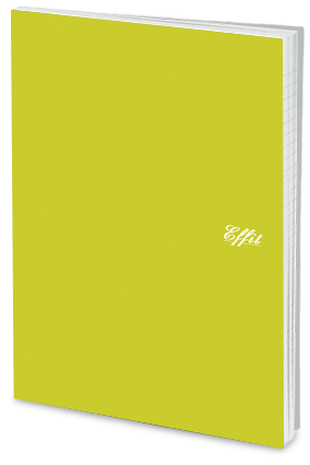 Effit Clear Green Notebook