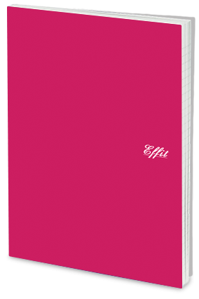 Effit Clear Pink Notebook