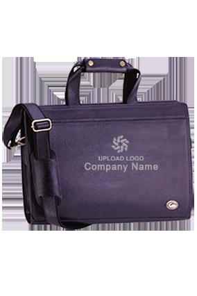 Executive Bag Leather NDM Black GE-1155